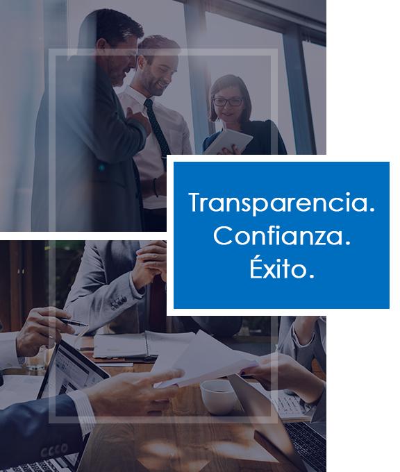 Transparencia, Confianza, Exito